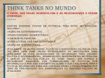 think tanks no mundo4