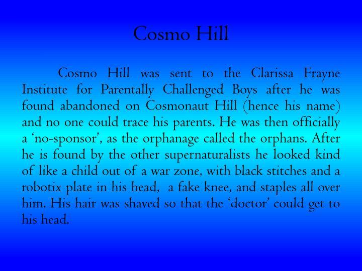 Cosmo hill
