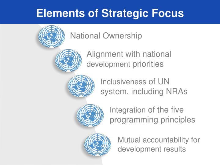 Elements of Strategic Focus