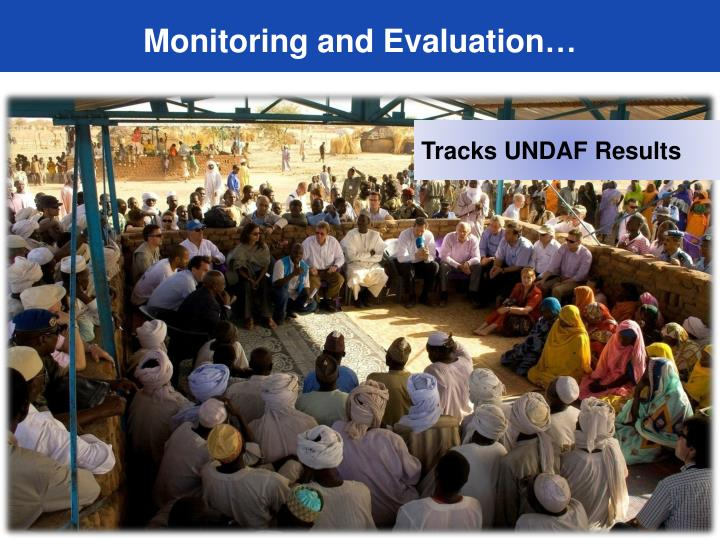 Monitoring and Evaluation…