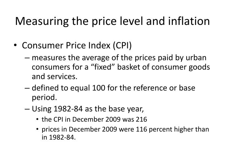 inflation and price level A general increase in the price level of goods and services unexpected inflation tends to be detrimental to security prices, primarily because it forces interest rates higher.