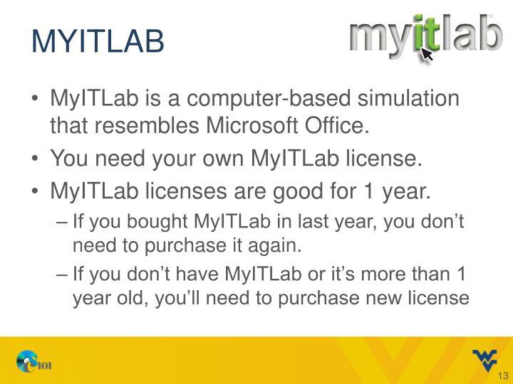 MyITLab