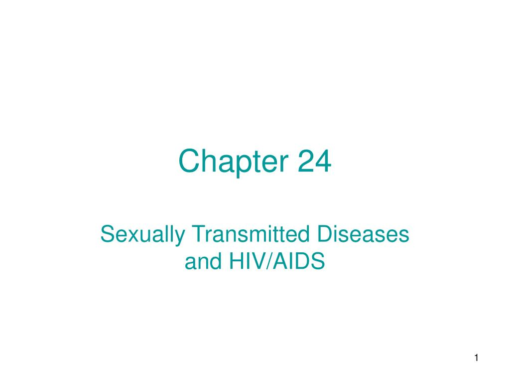 Chapter 24 sexually transmitted diseases and hiv/aids pictures