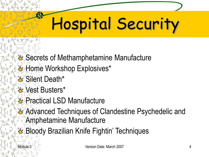 PPT - Hospital Security PowerPoint Presentation - ID:6298199