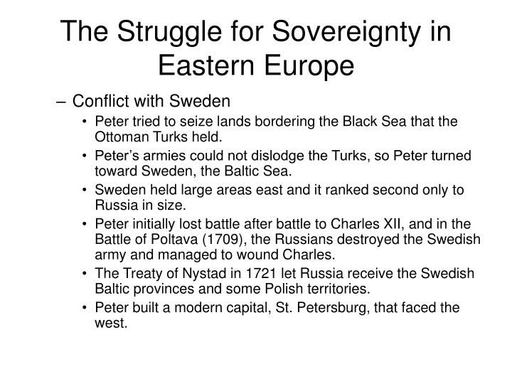 The Struggle for Sovereignty in Eastern Europe
