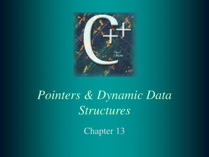 pointers dynamic data structures n.