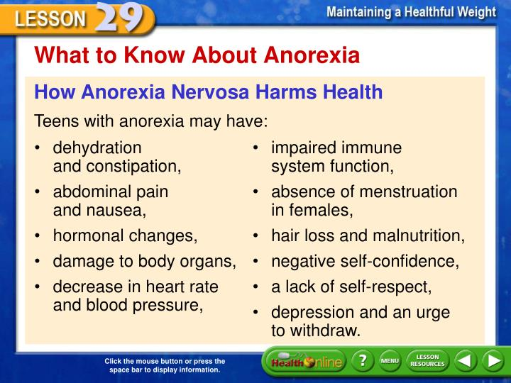 What to Know About Anorexia