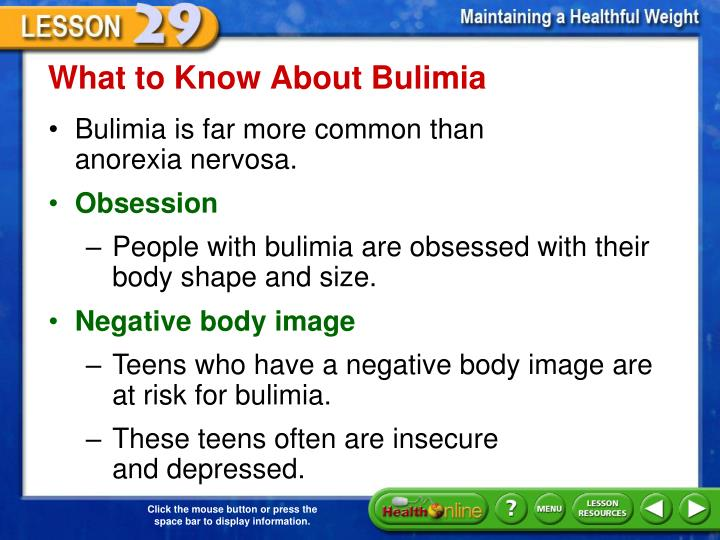What to Know About Bulimia