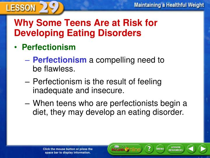 Why Some Teens Are at Risk for Developing Eating Disorders