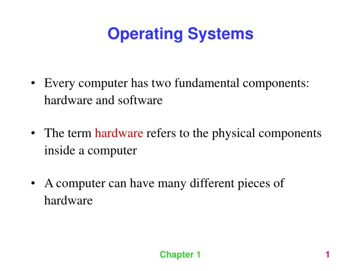 fundamentals of hardware and software components Pc hardware fundamentals, basics who does not know anything about pc hardware.