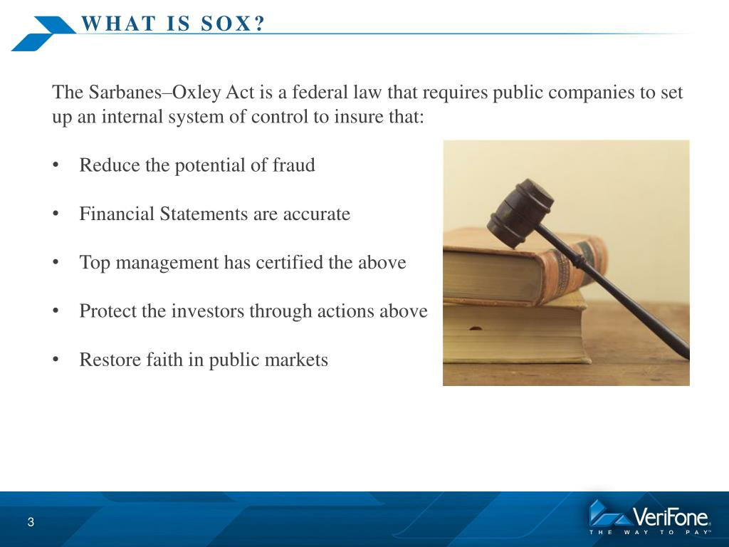Ppt sox compliance 2013 powerpoint presentation id6299625 what is sox xflitez Images