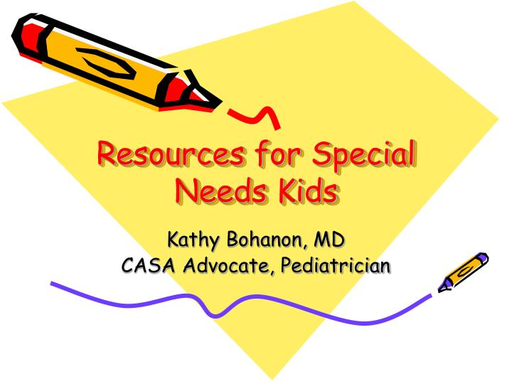 resources for special needs kids n.