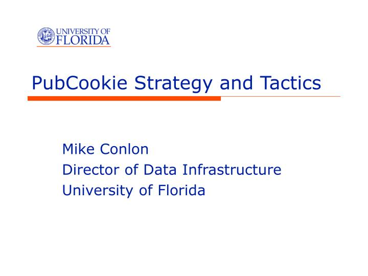 pubcookie strategy and tactics n.