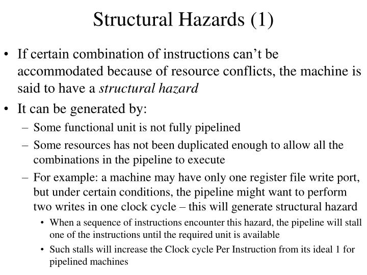 Structural Hazards (1)