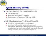 quick history of vms1