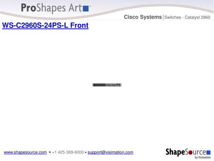 WS-C2960S-24PS-L Front