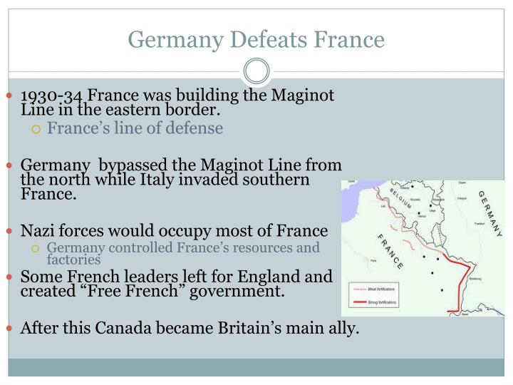 Germany Defeats France