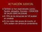 actuaci n judicial