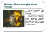 kokios r ies energija virsta vidine