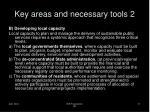 key areas and necessary tools 2