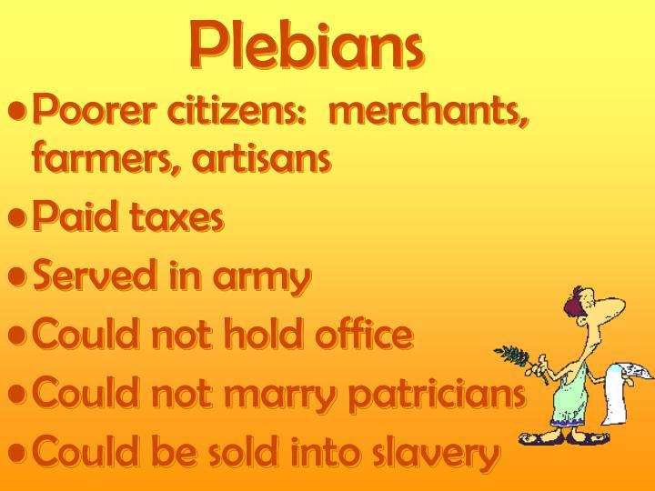 Plebians