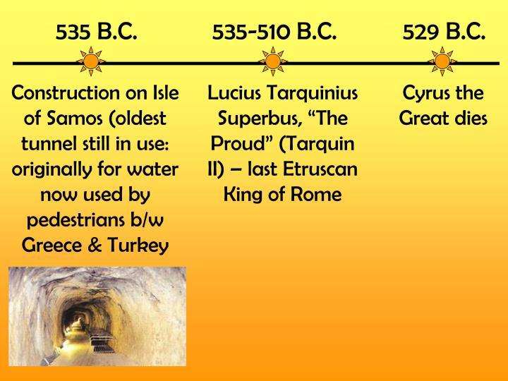535 B.C.