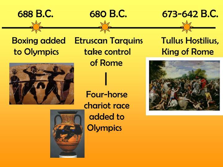688 B.C.