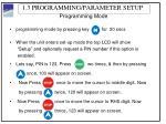 1 3 programming parameter setup2