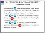 1 3 programming parameter setup3