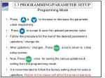 1 3 programming parameter setup4