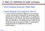 3 web 2 0 d finition et outils connexes