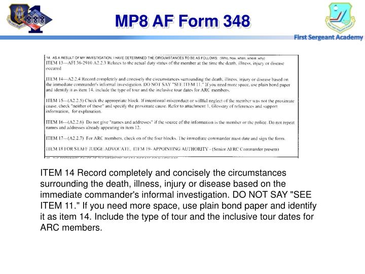 PPT - Line of Duty PowerPoint Presentation - ID:6304206