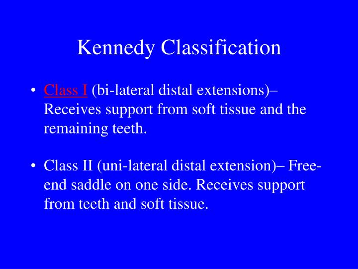 PPT - DL 313 Removable Partial Dentures II PowerPoint Presentation