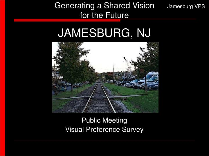generating a shared vision for the future n.