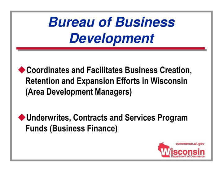 Bureau of Business Development