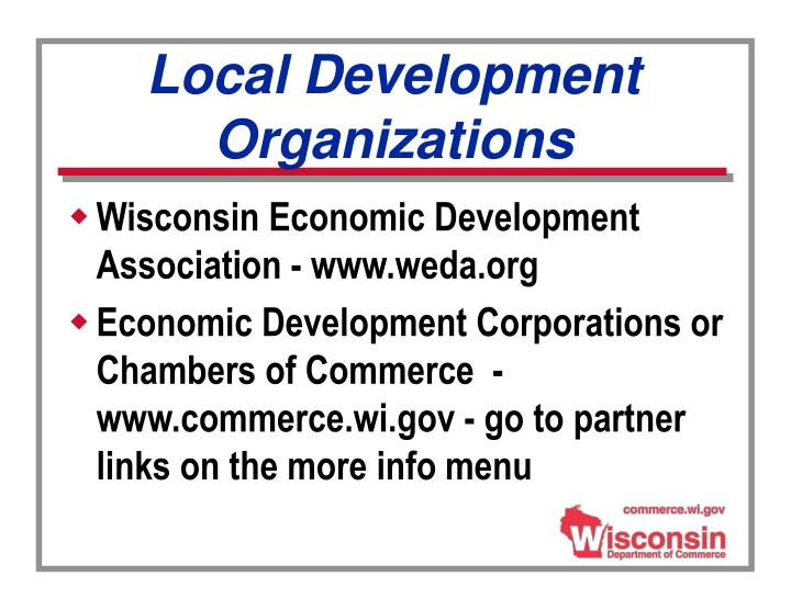 Local Development Organizations