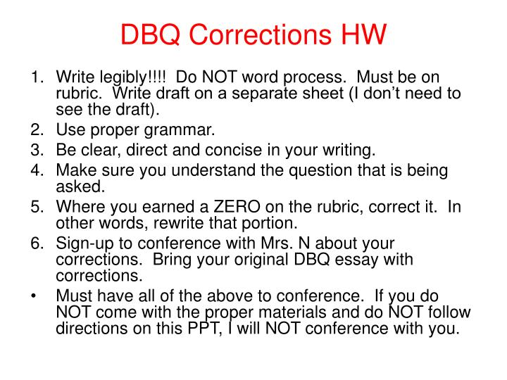 how to write a global dbq essay How to answer a document based question mr mulry us history september 2013 sunday, september 22, 13  type of essay that provides you with documents to serve as sources of information for your writing dbq stands for document based question sunday, september 22, 13 what is a dbq dbq's do not test  writing the essay and will help you.
