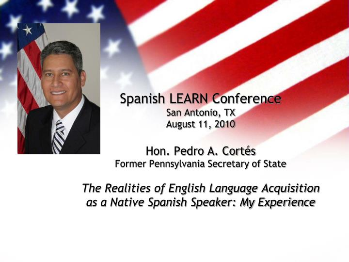 Spanish LEARN Conference