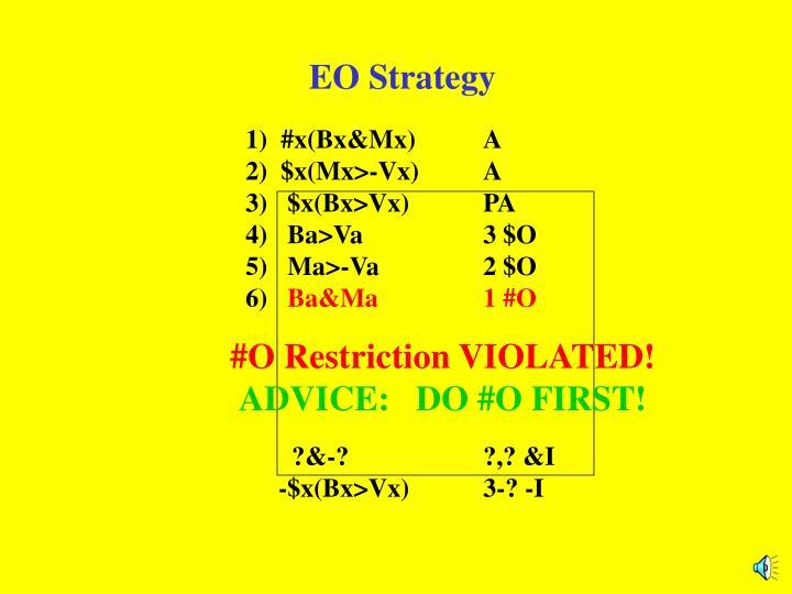 EO Strategy