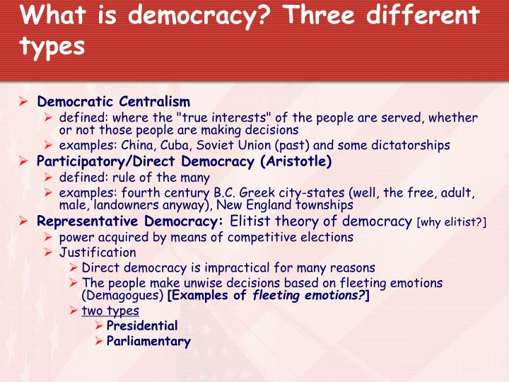 how the meaning of democracy and globalization differs in deferent essay Democracy, this essay will be developed as follows: first of all, i would discuss some key factors (or variables) influencing democracy and development and their theoretical explanations.