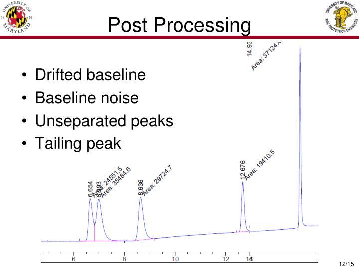 Post Processing