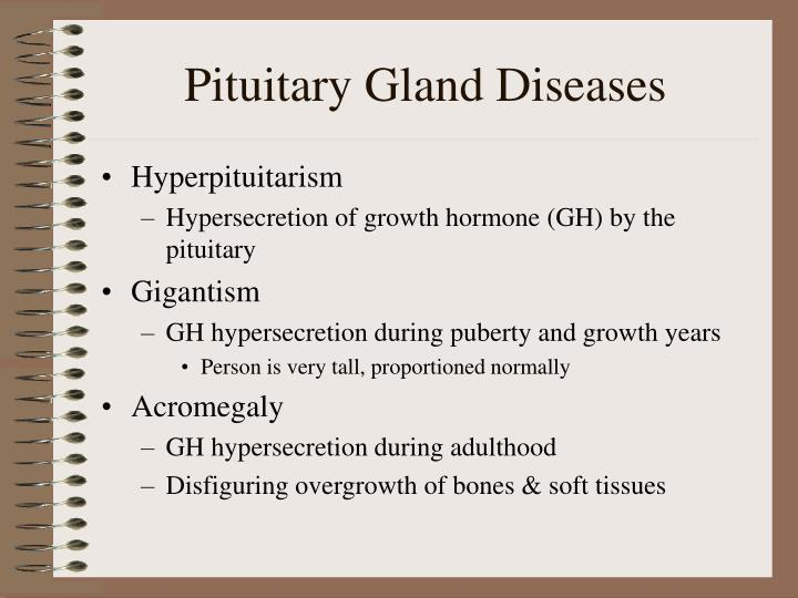 Pituitary gland diseases