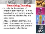 furnishing training