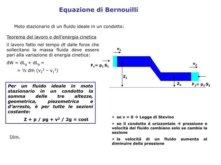 Equazione di Bernouilli