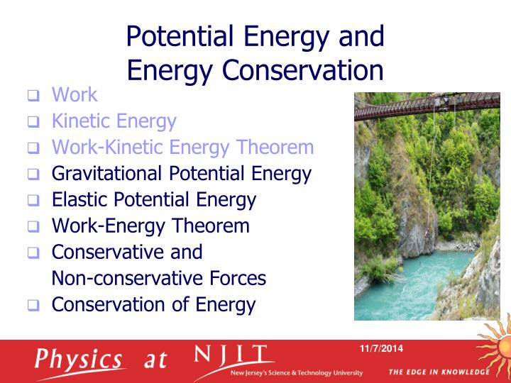 Potential Energy and