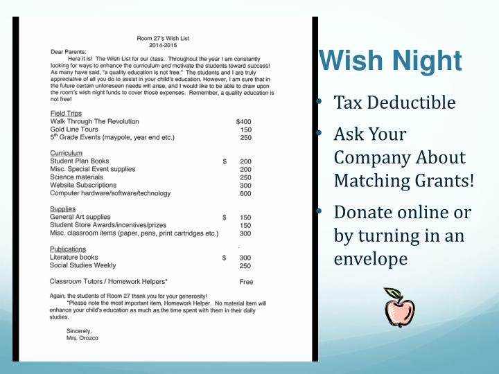 Wish Night