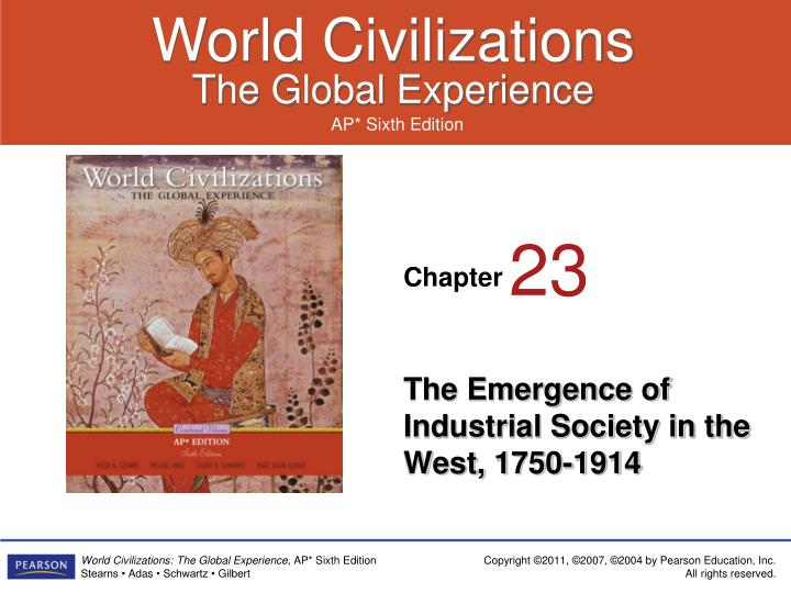 the emergence of industrial society in the west 1750 1914 n.