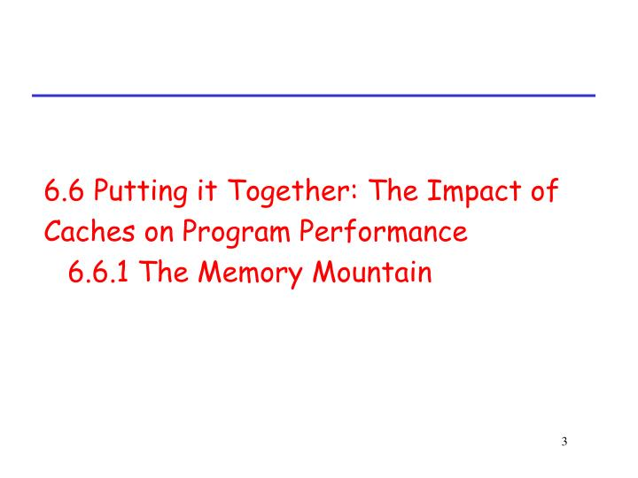 6.6 Putting it Together: The Impact of