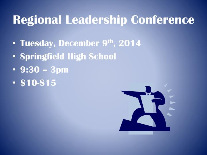 Regional Leadership Conference