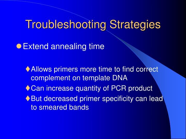 Troubleshooting Strategies